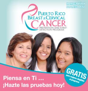 Mamografía y papanicolaou GRATIS en Puerto Rico